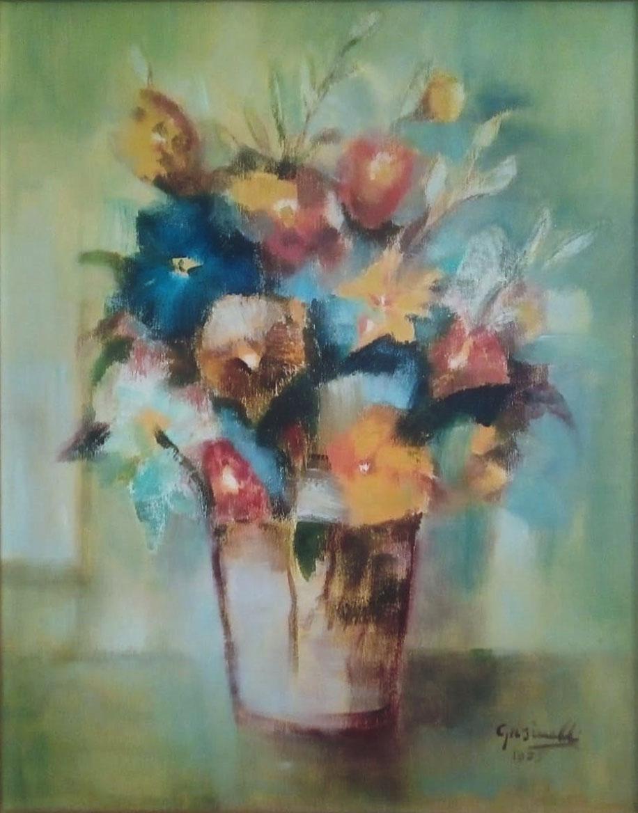 Giuseppe Grisinelli – Vaso di fiori