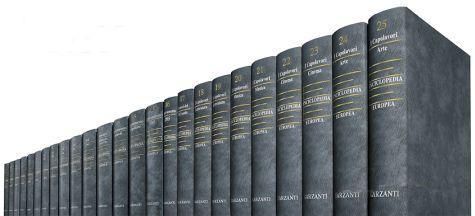 Enciclopedia Europea – Garzanti Editore