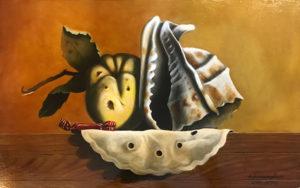 Alberto Serarcangeli – Composizione con conchiglia