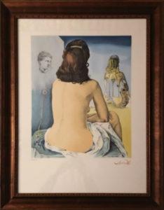 Salvador Dalì – Ma femme nue regardant son propre corps…..
