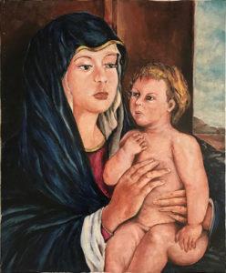 A. Cecchi – Madonna col bambino