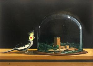 Alberto Serarcangeli – Una ninfa guarda una ninfa