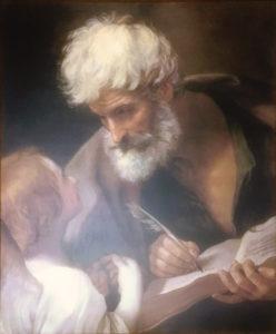 Riproduzione da Guido Reni – San Matteo e l'Angelo