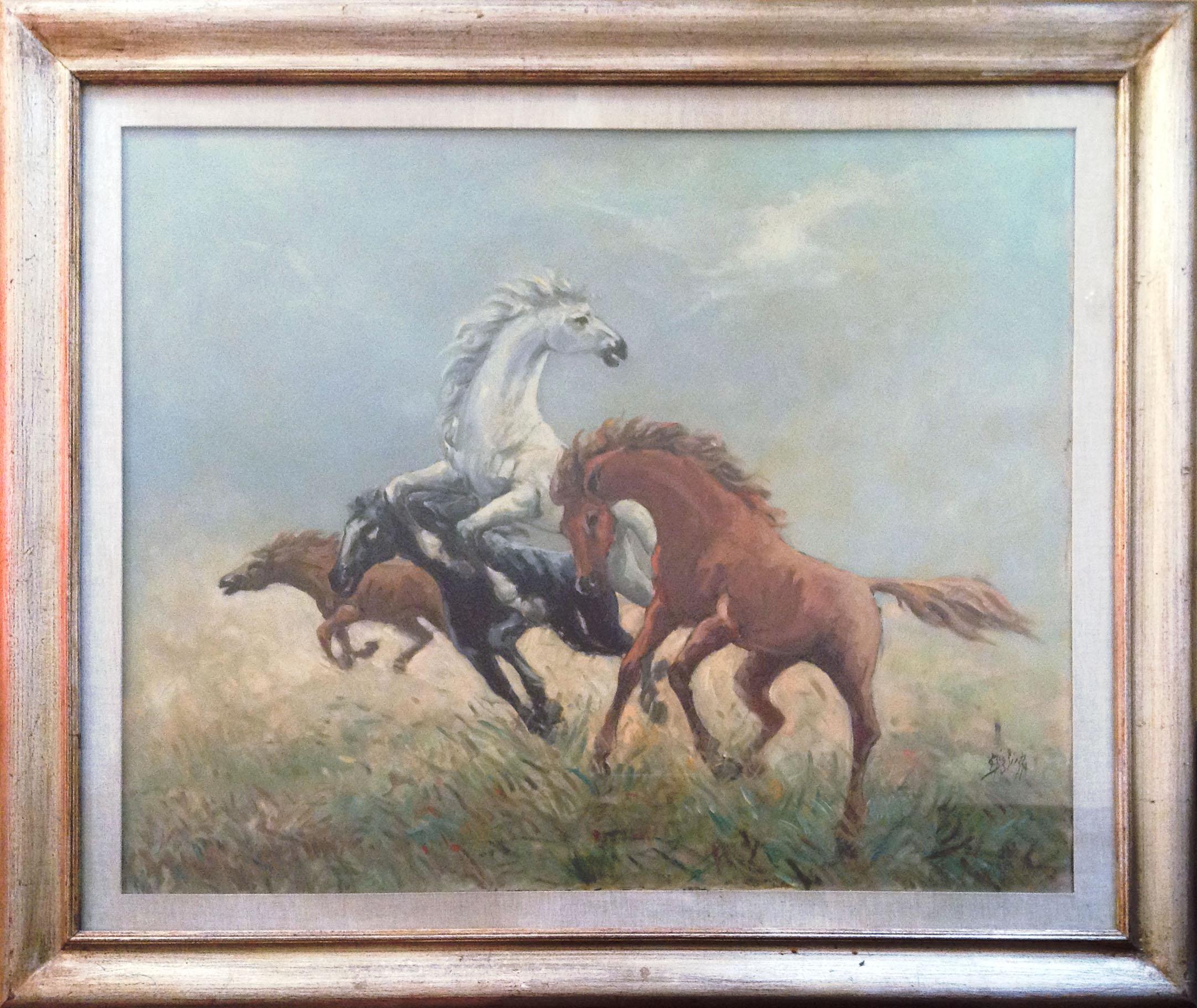 Salvatore Miglietta – Cavalli al galoppo