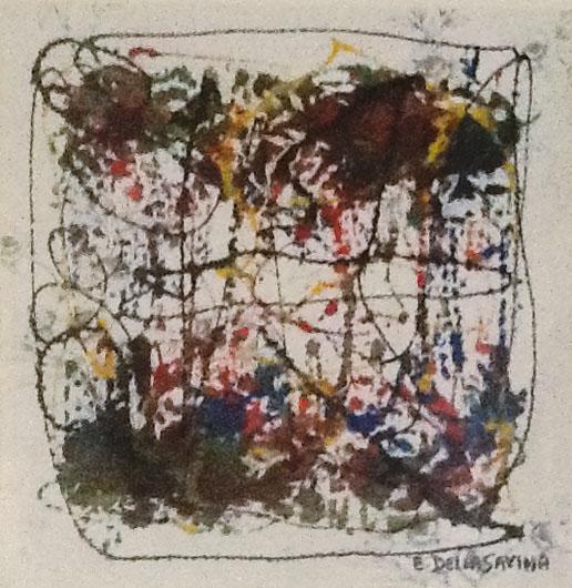 Ettore Della Savina – Senza titolo