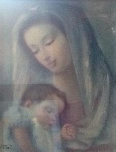 Elio Petazzi – Madonna col Bambino