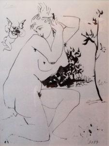 Pablo Picasso – Nudo e creatura