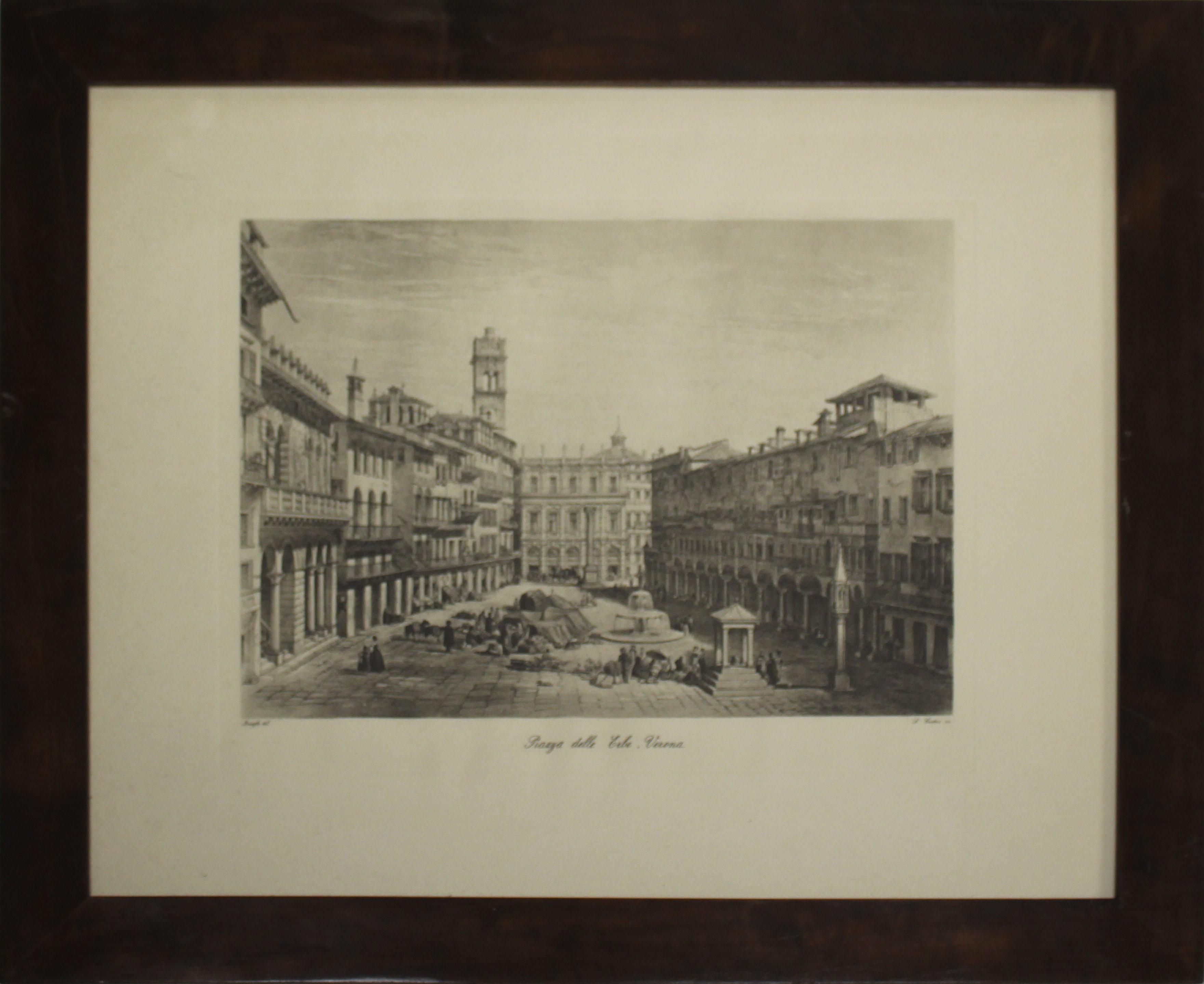Luciano Cristini – Piazza delle erbe Verona