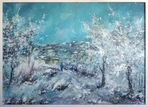 Gino Berardi – Paese sotto la neve