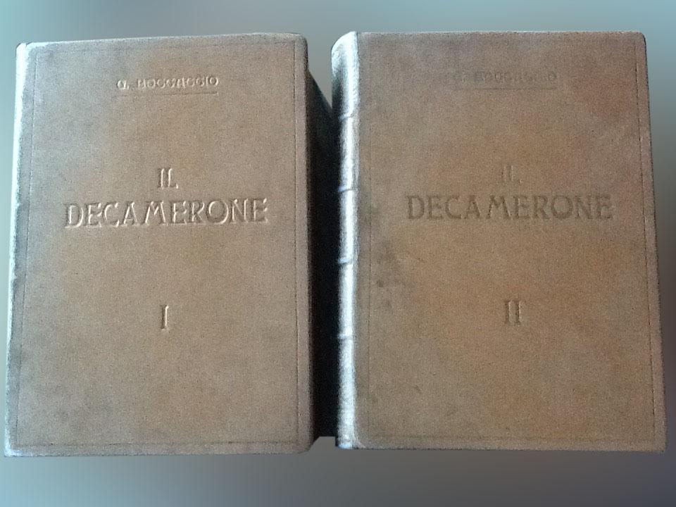 Il Decamerone – A. la chance du Bibliophile Milano