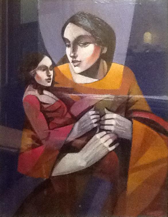 Tiziano Bertacco – Maternità