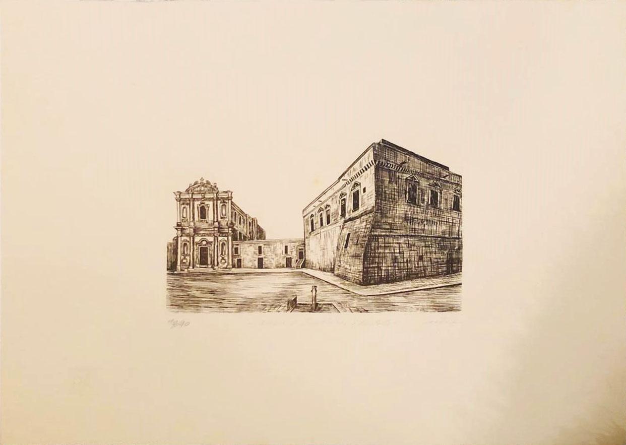 Nico D'Amico – Chiesa di Sant'anna e castello