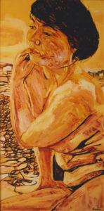 Pietro Cordici – Donna in spiaggia