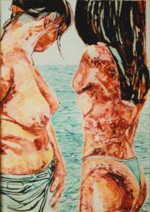 Pietro Cordici – Donne a mare