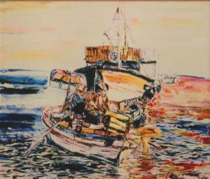 Pietro Cordici – Barca a mare