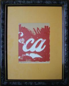 Mario Schifano – Coca cola