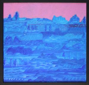 Luciano Bonello – Tramonto in rosa