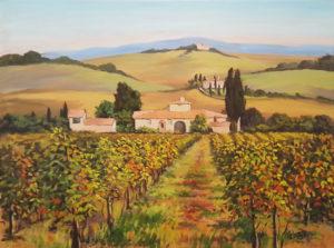 Italo Petreni – Vigneto a Lipozzano