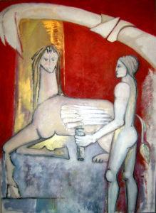 Luisa Del Campana – Edipo e la Sfinge