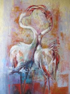 Marisa Falbo – Corteggiamento – Fenicotteri