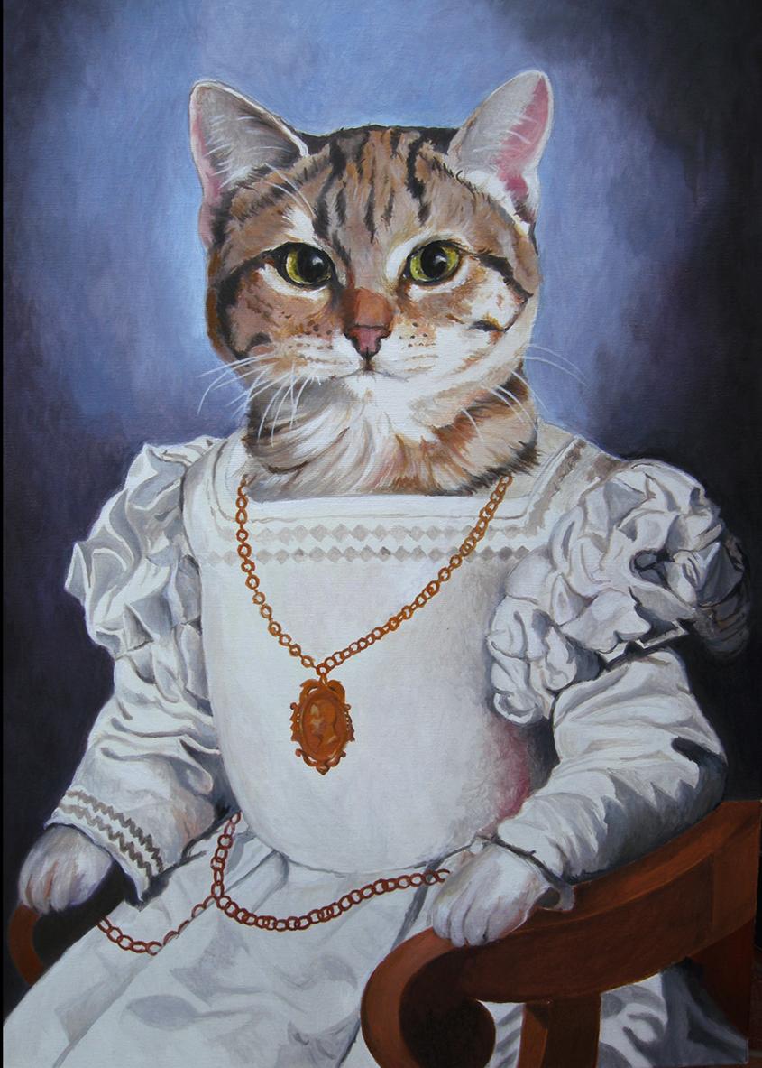 Maurizio Guarneri (Ritrattista animalier) – Senza titolo