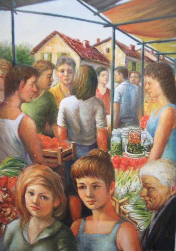Gianfranco Brusegan – Il mercato