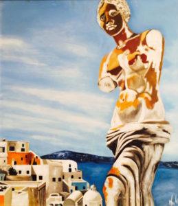 Silvana Martini – Paesaggio greco