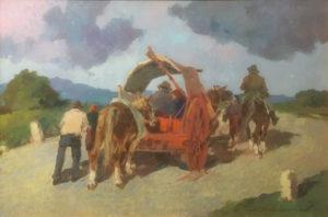 Carlo Domenici – Ritorno dal mercato