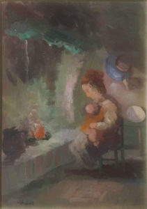 Guido Guidi – Donna al caminetto