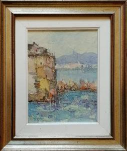P. Gaddi – Scorcio del lago di Como