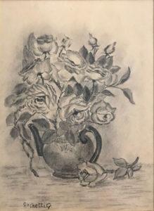 G. Archetti – Vaso di fiori