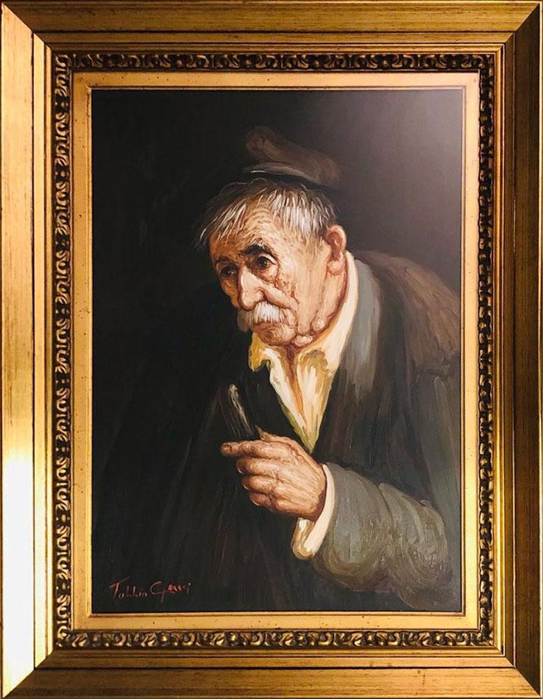 Tullio Grassi – Figura di vecchio