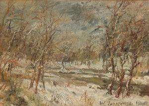 Wlodzimierz Zakrzewski  – Paesaggio