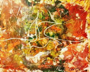 ViKtoriia Kubar – Una colomba