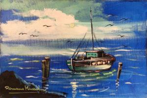 Romano Mussolini – Barca da pesca