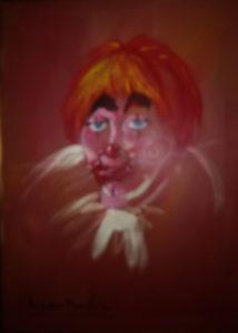 Romano Mussolini – Clown in rosso
