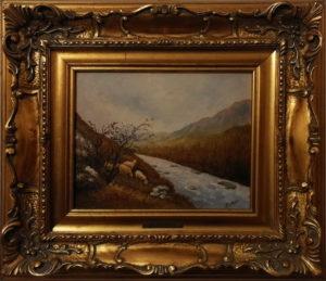 Ida Dell'Aquila – Pascolo lungo il fiume