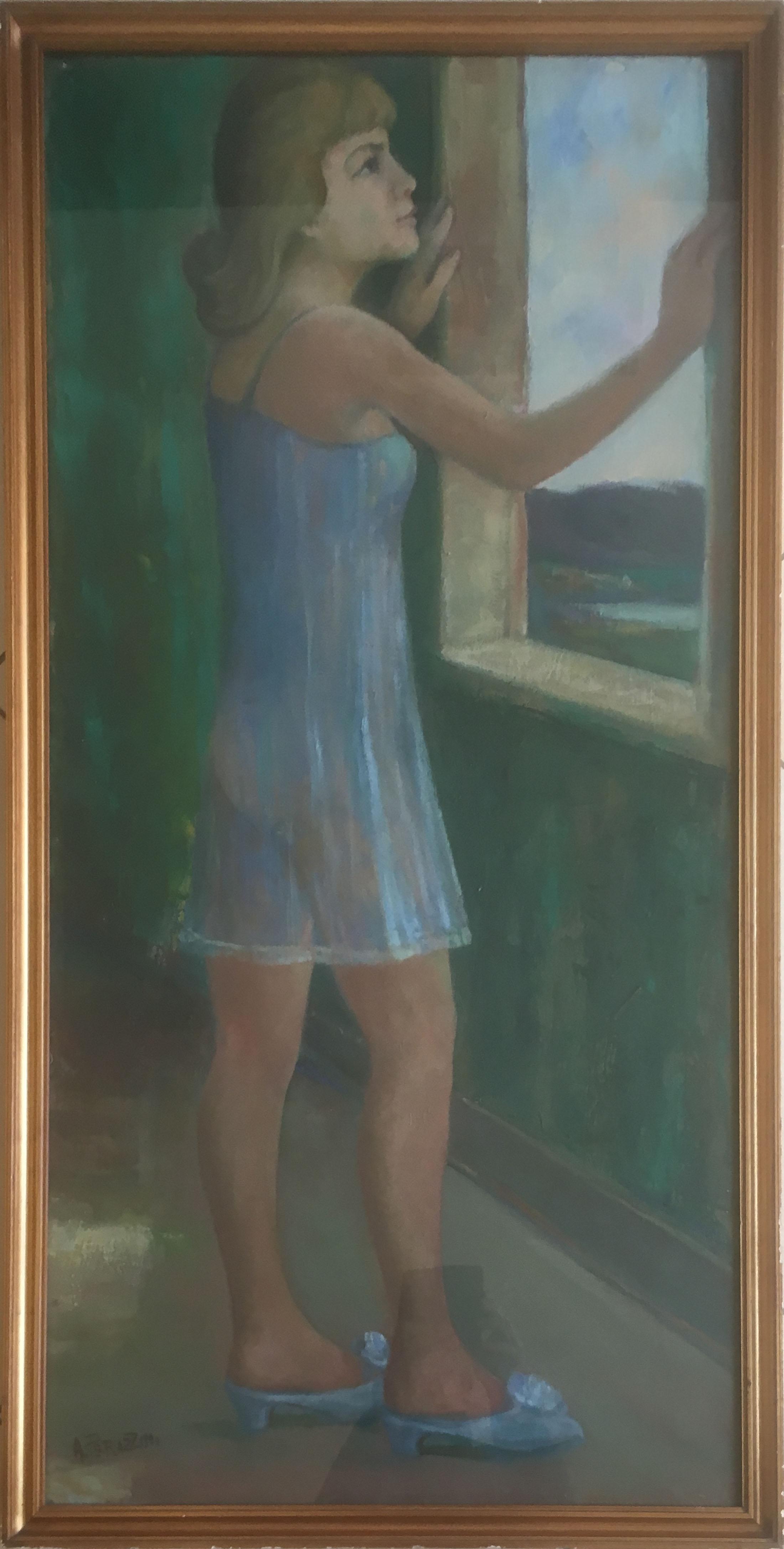 A. Perazzini – Donna alla finestra