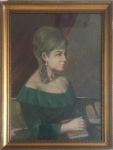 A. Perazzini – Signora con l'orecchino di perla