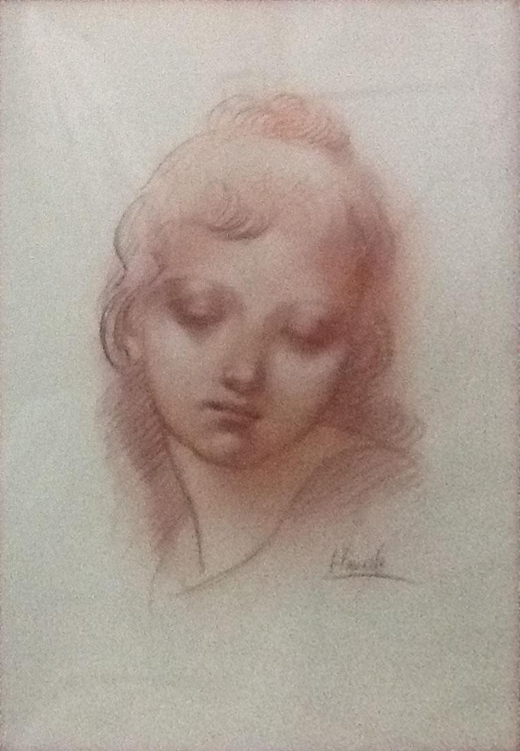Felice Vanelli – Ritratto femminile