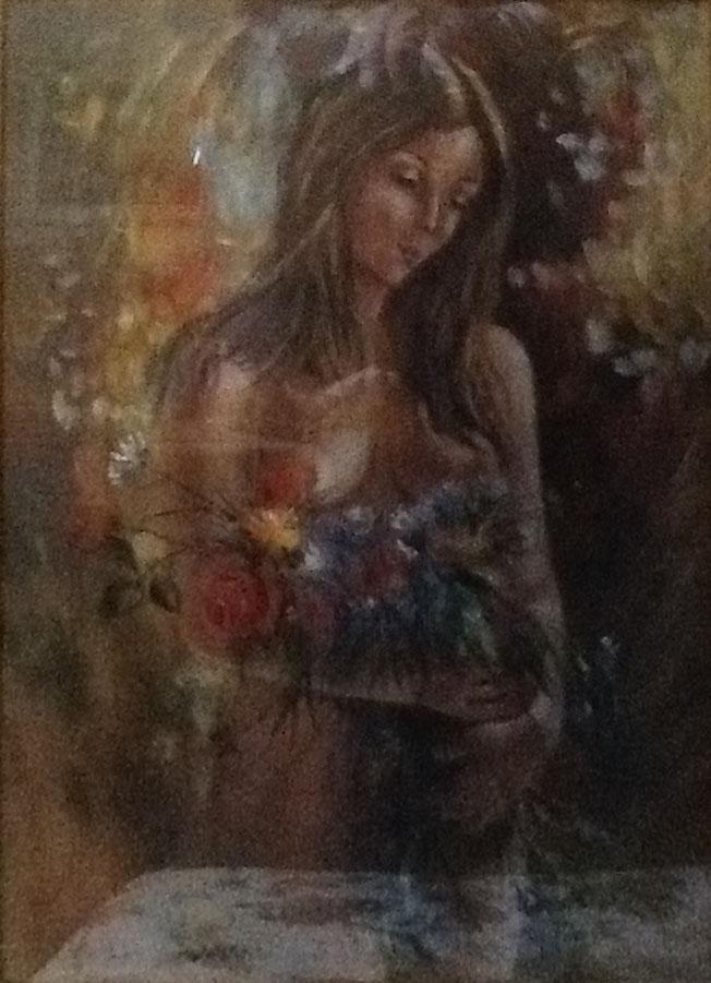 V. Di Sisto – Donna con fiori