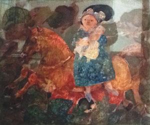 Antonio Possenti – Maria sul cavallo a dondolo