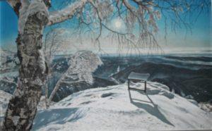 Mario Ferrari – Mezzogiorno sulla neve