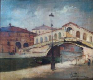 Achille Cattaneo – Ponte di Rialto