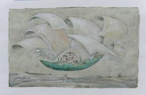 Carlo Ravaioli – Nave volante