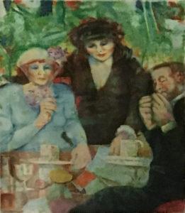 Remo Squillantini – Omaggio a Monet