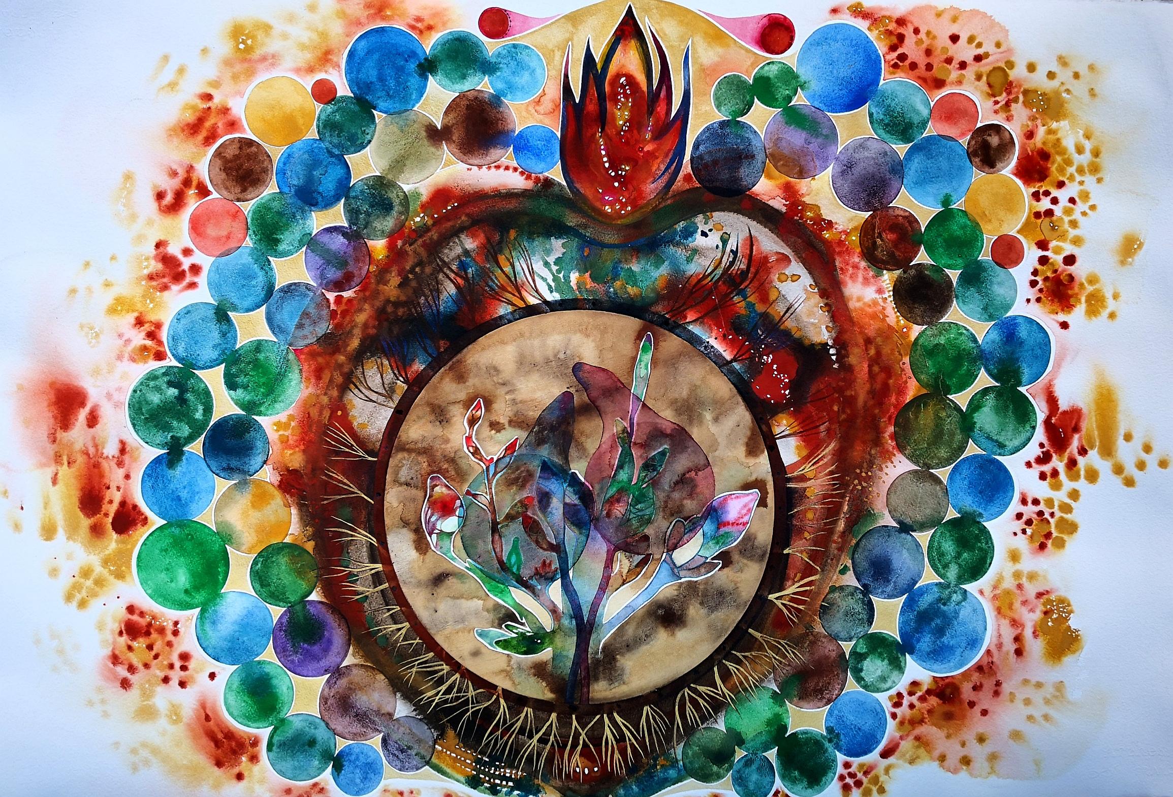 Ilaria Finetti – Cuore sacro reliquia del presente