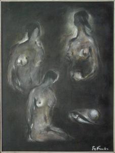 Aristide Gattavecchia – Figure con pesce