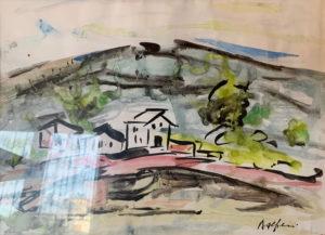 Attilio Alfieri – Paesaggio