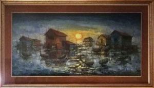 Giovanni Piva – Mattino nelle paludi di Chioggia